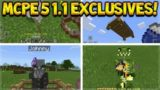 TOP 5 EXCLUSIVE FEATURES IN MCPE 1.1 – Minecraft Pocket Edition 1.1 Cool Exclusives (MCPE 1.1)