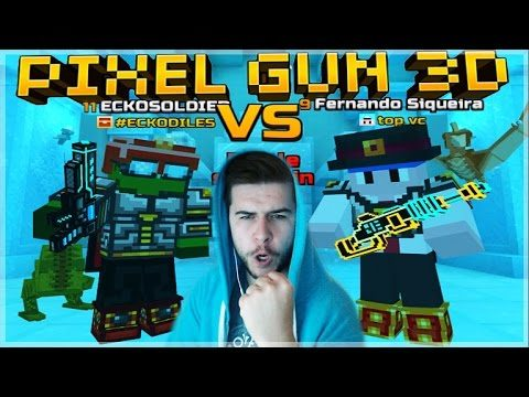 WE ARE STILL UNBEATEN!! 1V1 DUELS WITH MY NEW MERCENARY PISTOL! Pixel Gun 3D