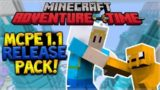 1.1 MCPE RELEASING SOON! – MCPE & Console Edition ADVENTURE TIME Mash-Up Pack (Minecraft News)