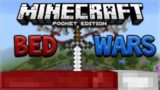 EPIC BEDWARS BATTLES!!! Minecraft Pocket Edition BEDWARS Mini-Game BATTLES (Pocket Edition)