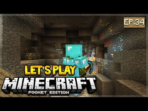 Let's Play Minecraft Pocket Edition 1.1 – The Mining Adventure 34 (Pocket Edition)