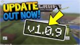 MCPE 1.0.9 UPDATE! Minecraft Pocket Edition UPDATE 1.0.9 OUT NOW! (Pocket Edition)