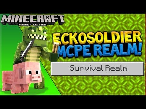 MCPE SURVIVAL REALMS! – Minecraft Pocket Edition Realms Jungle Village (Pocket Edition)