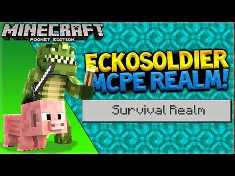 MCPE SURVIVAL REALMS! – Minecraft Pocket Edition The Chest Room (Pocket Edition)