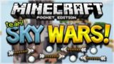 MCPE TEAM SKYWARS! Minecraft Pocket Edition TEAM SKYWARS The Ultimate Sacrifice! (Pocket Edition)