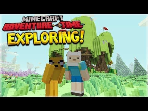 MINECRAFT ADVENTURE TIME – New Mash-Up Pack First EXPERIENCE (Minecraft Console Edition)