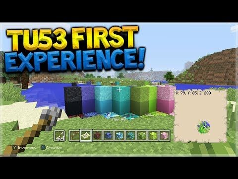 Minecraft Console Edition – TITLE UPDATE 53 First Experience Showcase (Console Edition)