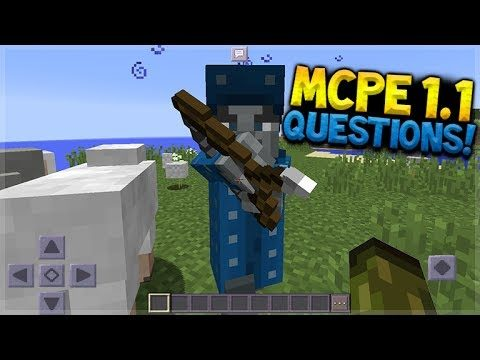 Minecraft Pocket Edition – 1.2 Q&A NEW illagers + Custom Flats (Pocket Edition)