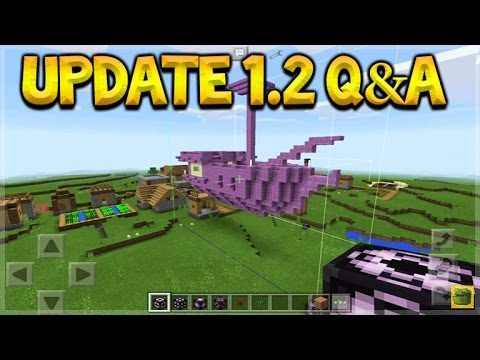 Minecraft Pocket Edition – 1.2 UPDATE Q&A Structure Blocks & PC Commands (Pocket Edition)