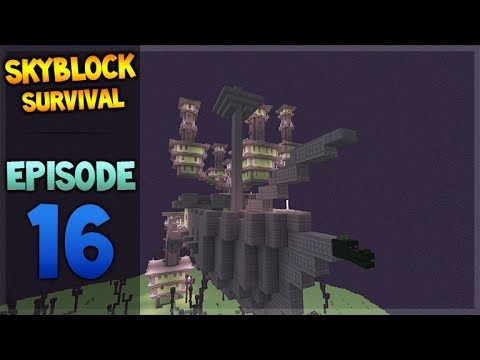 Minecraft Xbox – Skyblock Survival – The Adventure Room Battle 16
