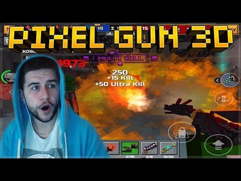 OMG!! OVERPOWERED LEVEL 2 PET DRAGON FLAMETHROWER!! Pixel Gun 3D
