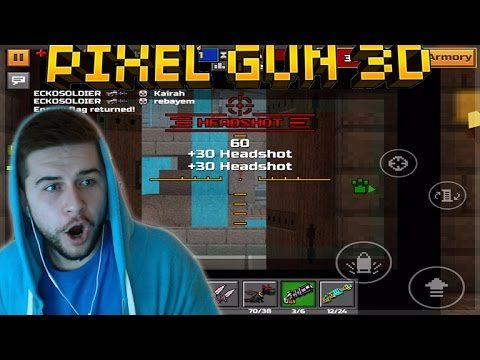 OMG!! THE BEST SNIPER WALL BANG KILL EVER!!! | Pixel Gun 3D