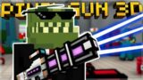 PAINTBALL GUN MINI-GAME EPIC VICTORY! XP REWARDS RANK UP! | Pixel Gun 3D