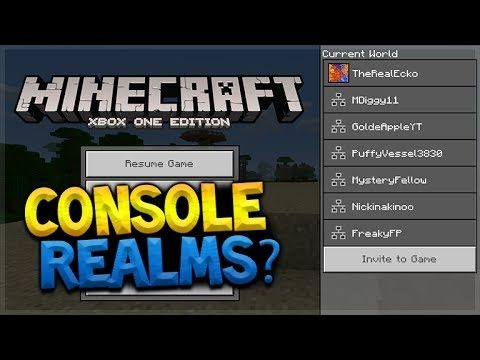 REALMS IN TU53? – Minecraft Console Edition LEAKED New Menus Shown (Console Edition)