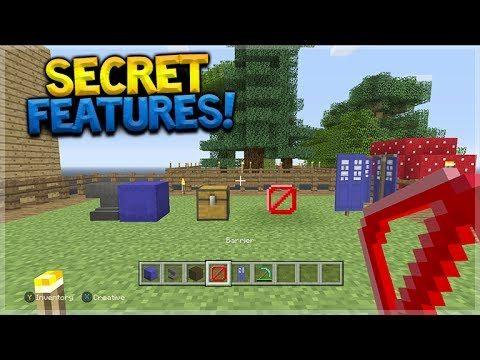 SECRET FEATURES!! Minecraft Console Edition – TU53 Hidden Secret Features Found (Console Edition)