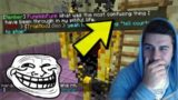 THE HEROBRINE BLAZE STORM!!! Funny Troll On Minecraft Players (Minecraft Trolling)