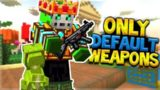 USING ONLY THE ORIGINAL WEAPONS AT LVL 15 | Pixel Gun 3D