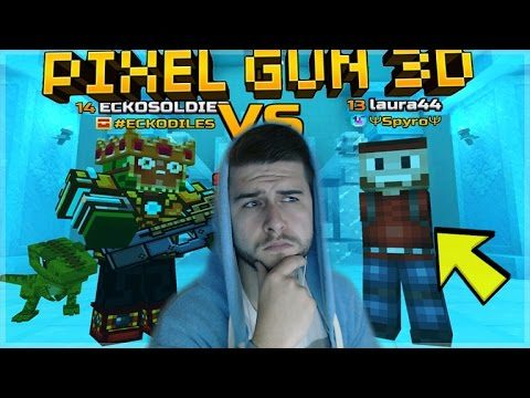 WHAT ON EARTH HAPPENED FIGHTING WEIRD PLAYERS!! Pixel Gun 3D