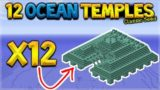 12 OCEAN MONUMENTS SEED Minecraft Console Edition – TU54 THE BEST SURVIVAL ISLAND SEED!