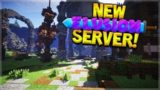 BRAND NEW SERVER! Minecraft: 1.7-1.12 Elusion Factions, Survival & More!