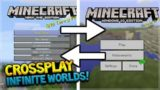 CROSSPLAY COMING MINECRAFT XBOX ONE & MINECRAFT POCKET + INFINITE WORLDS ON CONSOLE!