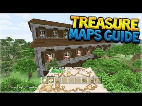 HOW TO FIND MANSIONS! Minecraft Console Edition – EASY Treasure Map Tutorial