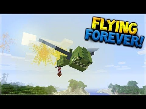 HOW TO FLY FOREVER!! Minecraft Console Edition – Elytra Firework BOOSTERS! (Console Edition)