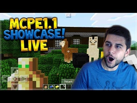 MCPE 1.1 FULL SHOWCASE! Minecraft Pocket Edition – 1.1 GAMEPLAY Showcase & Marketplace