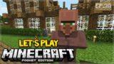 MCPE 1.1 Let's Play Minecraft Pocket Edition 1.1 – The Villager Breeder 38 (Pocket Edition)