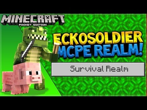 MCPE 1.1SURVIVAL REALMS! – Minecraft Pocket Edition 1.1 Jungle House (Pocket Edition)