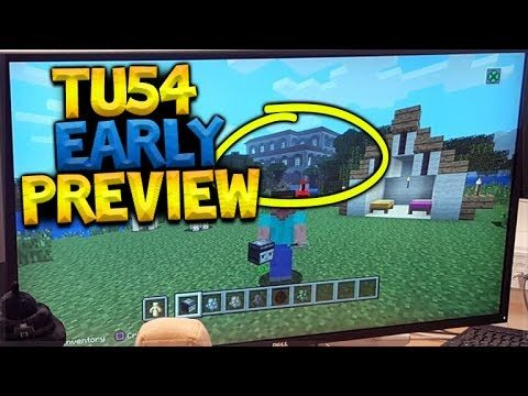 MINECRAFT CONSOLE EDITION – TU54 REVEALED!! – MANSIONS, PARROTS & MORE! (Console Update)