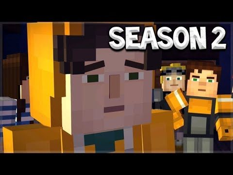 Minecraft Story Mode: SEASON 2 EPISODE 1 – NEW YOUTUBER CHARACTERS!!