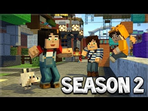 Minecraft Story Mode SEASON 2 – NEW SEASON RELEASE!! (FIRST PREVIEW!)
