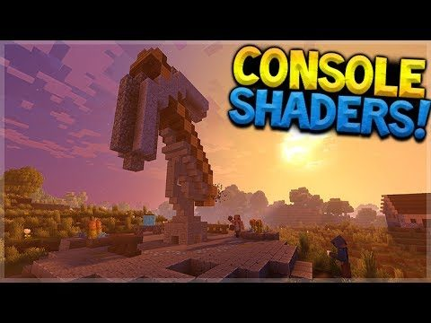 MINECRAFT XBOX – SHADERS COMING, SERVERS & MORE! Minecraft E3 2017!