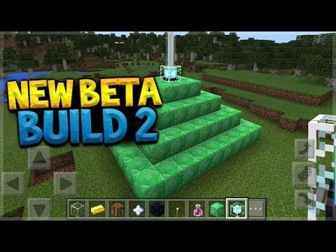 NEW MCPE BETA! Minecraft Pocket Edition BETA 1.1.1 Build 2 OUT NOW