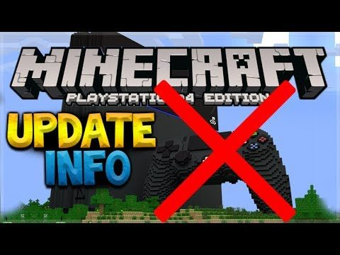 PLAYSTATION CROSSPLAY UPDATE: Minecraft Crossplay Situation UPDATE Video