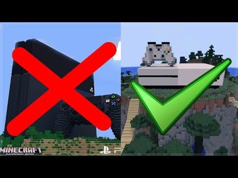 PLAYSTATION REFUSED CROSS PLAY: Minecraft Xbox Servers Everything You Need To Know E3