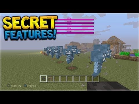 SECRET CHANGES! Minecraft Console Edition – TU54 Secret Features & Changes