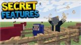 SECRET FEATURES Minecraft Console Edition – TU54 Hidden Secret Features Found (Console Edition)