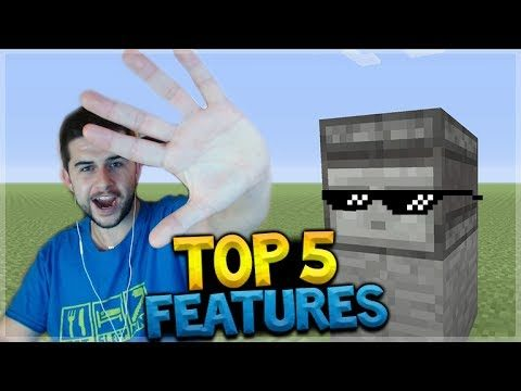 TOP 5 FEATURES ADDED TO MINECRAFT CONSOLE TITLE UPDATE 54