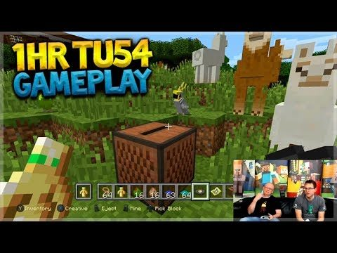 TU54 EARLY GAMEPLAY!! Minecraft Console Edition – 1HR Title Update 54 GAMEPLAY SHOWCASE