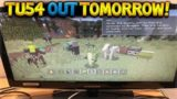TU54 OUT TOMORROW! Minecraft Console Edition – NEW Title Update 54 OUT TOMORROW!