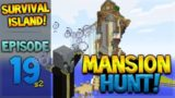 WOODLAND MANSION HUNT! Minecraft Xbox – Survival Island – Mansion Hunt TU54 Episode 19
