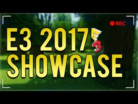 #XboxE3 2017 LIVE SHOWCASE! – Minecraft E3 Servers, Crossplay & Shaders! (XboxE3)