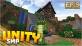 BARGAIN PURCHASE & MY PEACE GARDEN! EP.9 – Minecraft Pocket Edition Unity Realms SMP