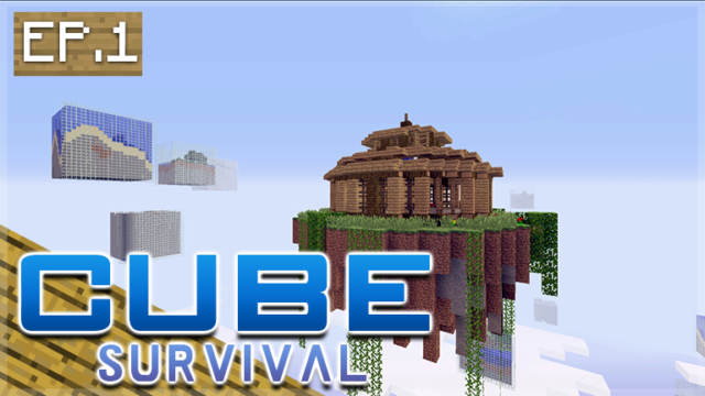 Minecraft Xbox – CUBE SURVIVAL – Living In The Sky Episode 1