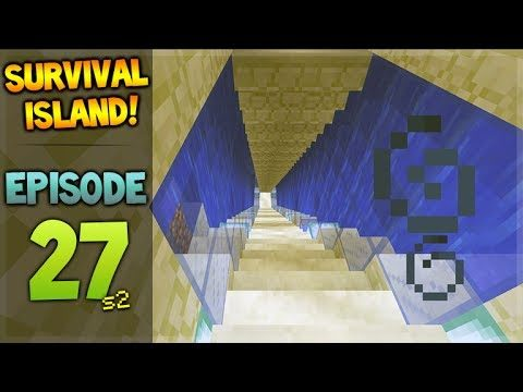 LIVE! Minecraft Xbox – Survival Island – Underwater Path Episode 27