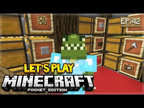 🔴 LIVE NOW! MCPE 1.1 Let's Play Minecraft Pocket Edition 1.1 – Chest Room! 42 (Pocket Edition)
