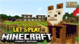 🔴 LIVE NOW!  MCPE 1.1 Let's Play Minecraft Pocket Edition 1.1 – Llama Hunt!! 41 (Pocket Edition)