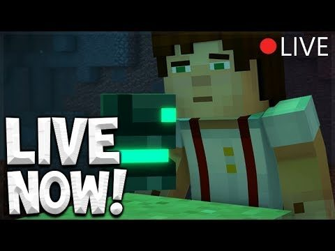 🔴 LIVE NOW – Minecraft Story Mode: Season 2 – EPISODE 1 Easter Egg Hunt!